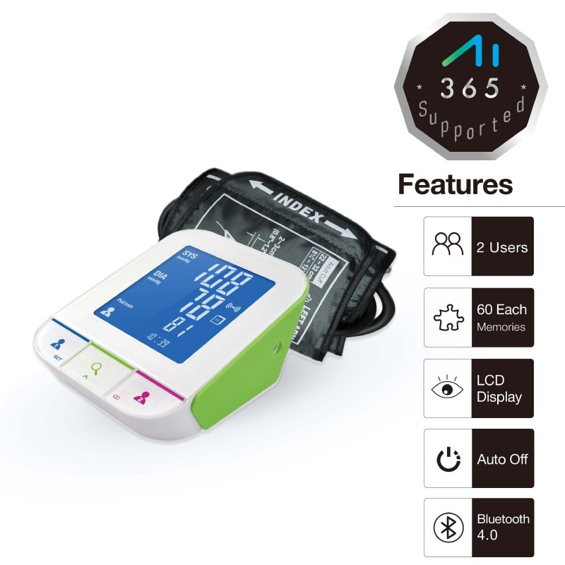 Blood Pressure Monitor_GSH802B